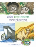 """""""Color Your Emotions: Dealing with Big Feelings"""" A-Z Anima"""