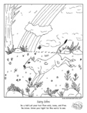 """""""Color Your Emotions"""" Zany Zebu Coloring Page for Mental H"""