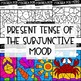 Present Subjunctive Verbs Worksheets | Spanish verb coloring activity | Colorea