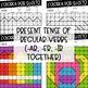 ¡Colorea por Sujeto! Regular Present Tense - Spanish verb coloring activity