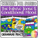 ¡Colorea por Sujeto! el Futuro y el Condicional - Spanish