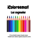 ¡Coloreemos! Let's Color: Cognates