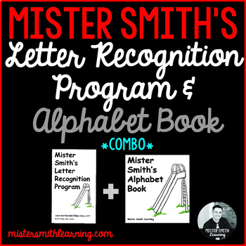 Letter Recognition Program and Alphabet Book *Combo Bundle*