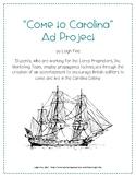 Come to Carolina Ad Project - South Carolina