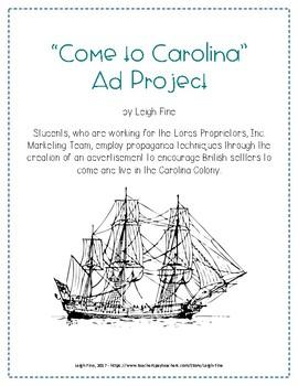 Come to Carolina Poster Project - South Carolina