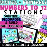 Growing Bundle - Representing Numbers to 12 - Google Slide