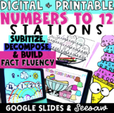 Growing Bundle - Representing Numbers to 12 - Google Slides & Seesaw - Addends