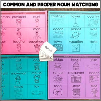 """Common and Proper Noun Matching"" Center"