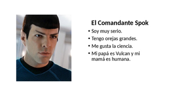 ¿Cómo Soy Yo? Star Trek PowerPoint