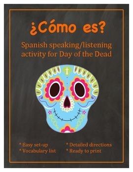 ¿Cómo es? Spanish Speaking and Listening Activity