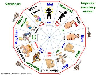 La Clase de español. How are you? / ¿Cómo estás?