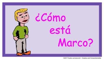 ¿Cómo está Marco?