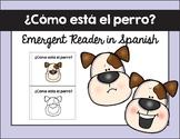 ¿Cómo está el perro? texto / How is Dog? Emergent Reader in Spanish