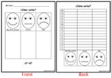 ¿Cómo estás?- Communicative activity with survey & graph