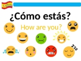 ¿Cómo estás? How are you? Spanish PowerPoint