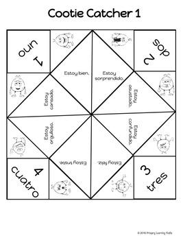 ¿Cómo estás? - Posters, Games, and Conversation Activities to Practice Emotions