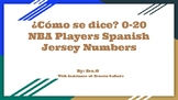 ¿Cómo se dice? 0-20 NBA Players Spanish Jersey Numbers