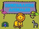 *Comparando Animales* - Comparing Animals (Spanish)- Dual Language - Bilingual