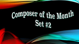 """Composer of the Month"" Bulletin Board Set #2"