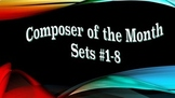 """Composer of the Month"" Bulletin Board Sets #1-8"
