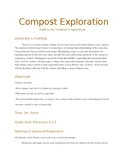 """Compost Exploration"" Lesson Plan"
