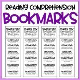 {Comprehension Strategies} Bookmarks // FREE