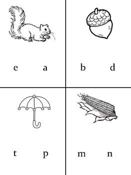 ¿Con qué letra empieza...?  / Beginning sounds worksheet