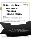"""Confessions of a Drama Queen"" Fiction Webquest-End of Year Review - LINK"