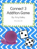 """""""Connect 3"""" Kindergarten Addition Game"""