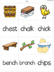 {Consonant Digraphs Match It} Word Work Station Literacy Center Memory Game