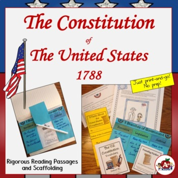 The Constitution of the United States is Born