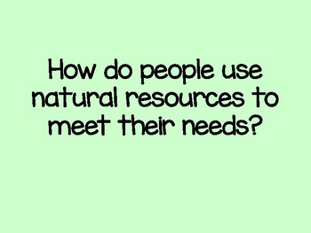 """""""Continents and Natural Resources"""" Presentation"""