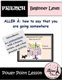 "ALLER À: using ""à + contractions"" to say that you are going somewhere in French"