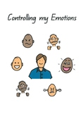 'Controlling my Emotions' social story