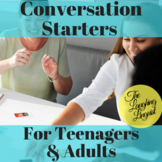Conversation Starters For Teenagers & Adults - 70 Cards
