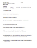 """Cooked"" a Netflix Documentary Worksheets"