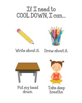 """Cool Down Spot"" Printable!"