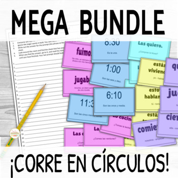 ¡Corre en Círculos!- ALL ACTIVITIES BUNDLE