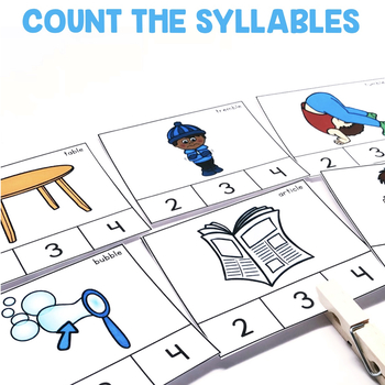 """""""Count the Syllables"""" Center"""