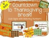 """Countdown to Thanksgiving"" Bulletin Board Set"