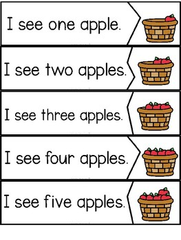 """Counting Apples"" (Fall/September Emergent Reader Dollar Deal)"