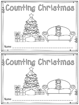 """Counting Christmas"" Emergent Reader (A Christmas/December Dollar Deal)"