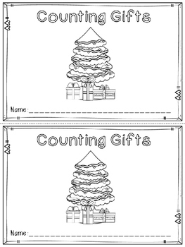 """""""Counting Gifts"""" Emergent Reader (A Christmas/December Dollar Deal)"""