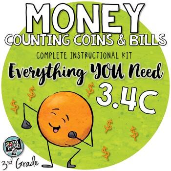 - Counting Money worksheets & more : Coins and bills - 3rd grade math TEKS 3.4C