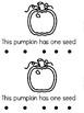 """""""Counting Pumpkin Seeds"""" (Fall/October Emergent Reader Dollar Deal)"""