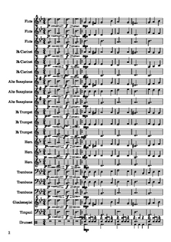 """Coventry"" Mixed-Level Beginner Band Arrangement"