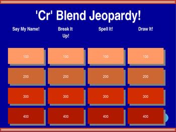 Cr Blend Jeopardy!