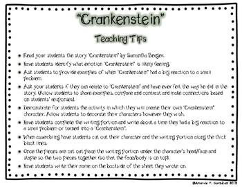 """""""Crankenstein"""" Student Activity"""