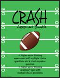 """""""Crash"""" by Jerry Spinelli - Assessment Bundle [HIGHER ORDE"""