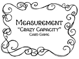 """""""Crazy Capacity"""" A Measurement Card Game for Customary Cap"""